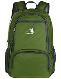Free Knight 25L Packable Handy Lightweight Travel Backpack Daypack (New Green)