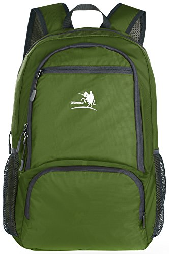 Price comparison product image Free Knight 25L Packable Handy Lightweight Travel Backpack Daypack (New Green)