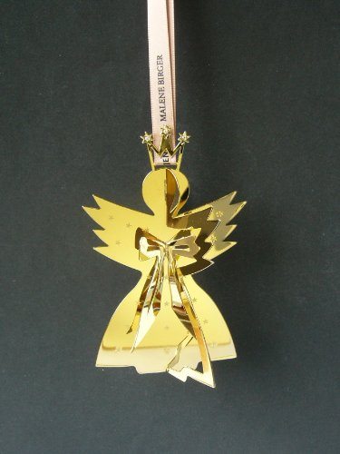 Malene Birger for Georg Jensen Holiday Angel Mobile Ornament, Gold