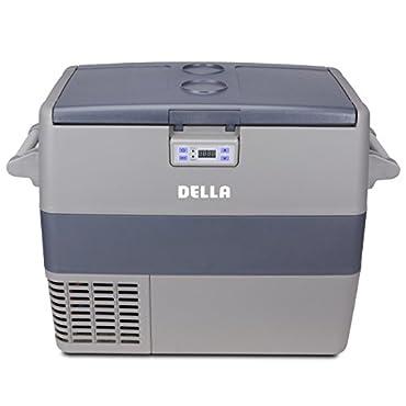 Della Portable Refrigerator Freezer Camping Travel Fishing RV Boat Family Cooler- 49L Capacity 12VDC