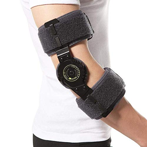 (SENTEQ Post-op ROM Elbow Brace. One Size. Medical Grade & FDA Approved. HCPCS L3760 (SQ1-DR003))