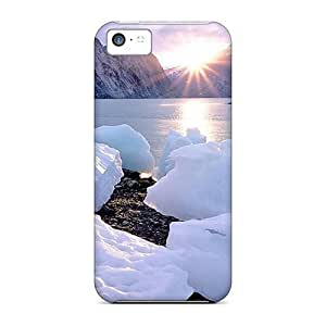 meilz aiaiBack Cases Covers For Iphone 5c - Sunrise In Spring Up Northmeilz aiai BY shenglong