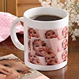 Personalized Photo Collage Ceramic Coffee Mug