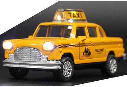 New York Taxi Taxi Jaune 1 36 Véhicules Miniatures Pour Enfants Cadeau Amazon Ca Jeux Et Jouets
