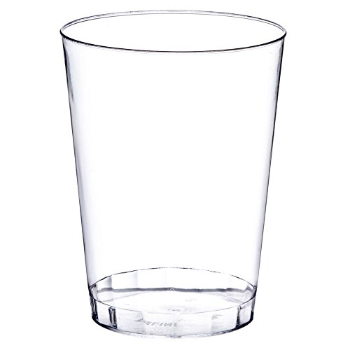 Premium Quality Plastic Cups (12 oz. 20 Pack) - Party Shot Glasses - Break-Resistant/Stackable Restaurant Tumbler Beverage Cup - Perfect for mixed drinks/cocktails, wine, beer, water, soda, juice