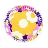 Wilton Retro Floral Mini Baking Cups, 100 Count