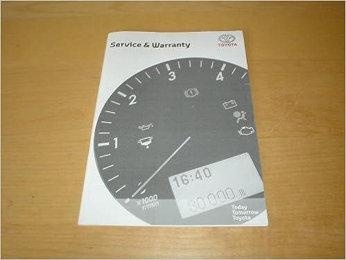 toyota prius service schedule uk