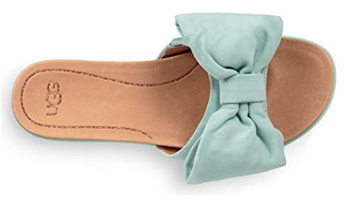 Slides 100 Women's Ugg Pink Aqua In Joan Leather 8ESw7a