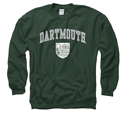 Dartmouth Big Green Adult Arch and Seal Crewneck Sweatshirt - Green , Medium