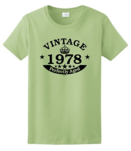 40th Birthday Gift Vintage 1978 Perfect Aged Crown Ladies T-Shirt