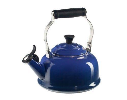 Le Creuset 1.7-Qt. Enamel on Steel Classic Whistling Teakettle - Harm. Blue by Le Creuset