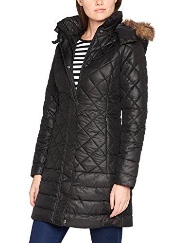 Femme Black Manteau Joules Black Snowshill Noir 0wI4qE8