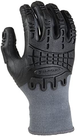 MadGrip Pro Palm Thunderdome Gloves, X-Large, Grey/Black