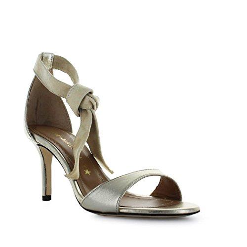 Summer MARC Platinum 2018 Spring Sandal ELLIS Shoes Women's Suede 0tW0qr8