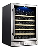 Kalamera 24'' Wine Cooler 54 Bottle Single Zone Touch Control Built-In Deal (Small Image)