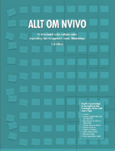 Read Online Allt Om Nvivo ebook