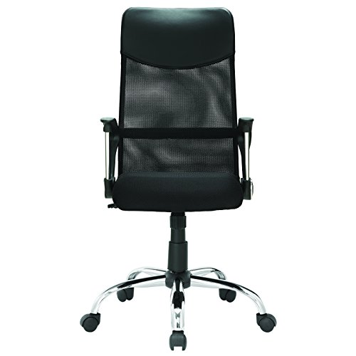 LexMod Sights High Back Ergonomic Office Task Chair in Black