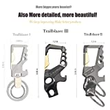 Hephis Heavy Duty Key Chain Bottle Opener,Carabiner