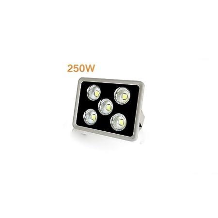 HviLit IP65 Impermeable 250W LED Luces de inundación Alto brillo ...