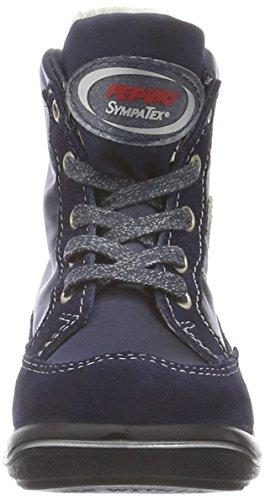 Ricosta 38-20100 Josie Mädchen Boots Stiefel Weite Mittel Sympatex Blau (nautic/marine 171)