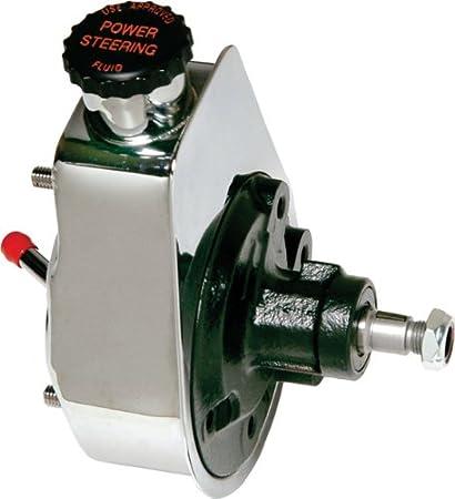 Saginaw Power Steering Pump >> Amazon Com Borgeson 800313 Chrome Rebuilt Saginaw Power