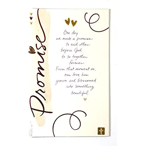 Valentine Card Husband Religious (Promise One day we made a promise to each other.)American Greetings each Sales