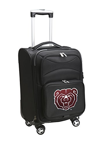 Denco NCAA Southwest Missouri State Bears Domestic Carry-On Spinner, 20-Inch, Black from Denco