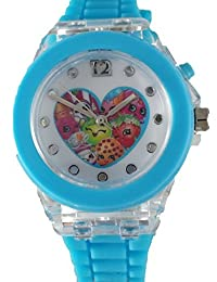 Shopkins Kid's Digital Watch with Light Up Feature KIN9006