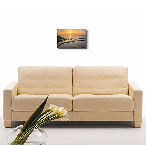 Rice Terraces at Sunset for Home or Spa Decor Wall Decor ation