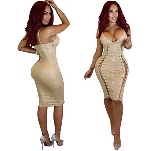 Vestito Body Gonna Sexy Lingerie Beige Look Da Ballo Wet Clubwear Cuoio Uniformi Cosplay Biancheria Donna Di Abito Xsqr qOwPBx0vRw