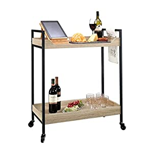 Sauder North Avenue Serving Cart