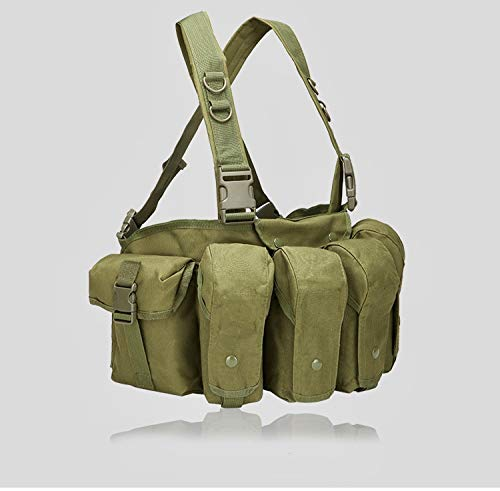 Emproda Universal AR AK Chest Rig for Training, Hunting, Airsoft, Operation (OD Green) (Best Ar Chest Rig)