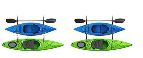 RAD Sportz 2029 Double Kayak Storage Strap GarageCanoe Hoists 100 lb Capacity (Pack of 2)