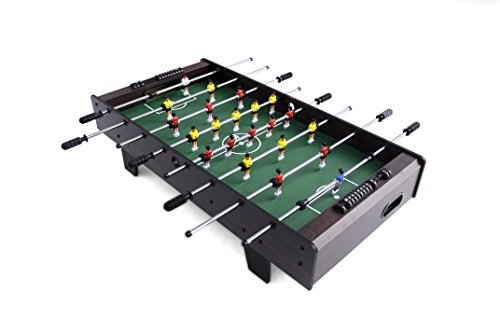 Haxton Mini Table top Foosball Table- Portable Mini Table Foosball/Indoor & Outdoor Soccer Game Set for Adults and Kids Soccer Game Table Toy Foosball Soccer Competition Soccer Table Room Sports from Haxton