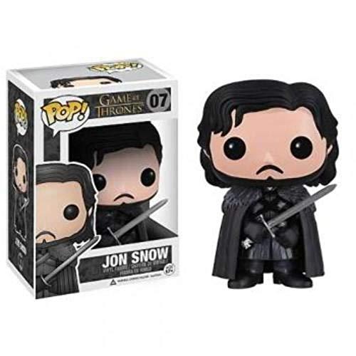 Figura Pop Jon Nieve Juego de Tronos (con Capa)