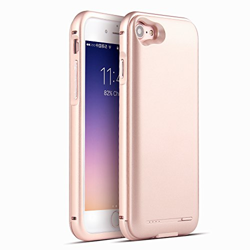 2800mah Power Case for iPhone 7 (Rose Gold) - 4