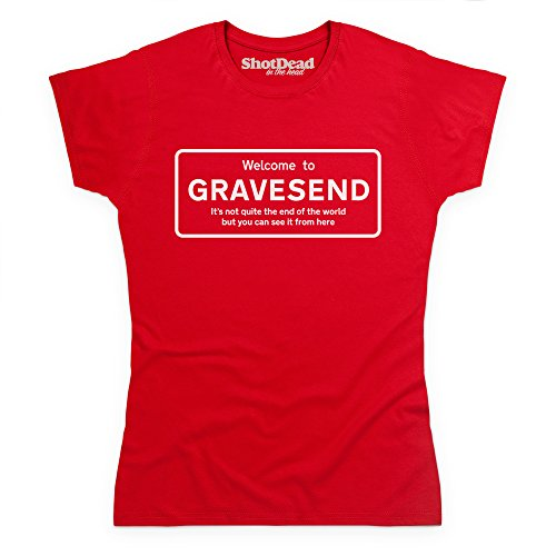 Not Quite The End Of The World - Gravesend Camiseta, Para mujer Rojo