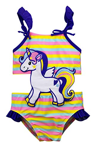 (Sol Swim Connector Swimsuit for Girls   Magical Unicorn   Three Little)