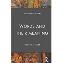 Words and Their Meaning (Learning about Language)
