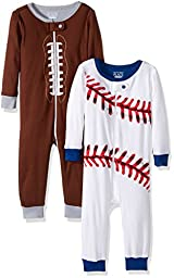 The Children\'s Place Baby Boys\' Stretchie Pajama (Pack of 2), Sports, 18-24 Months