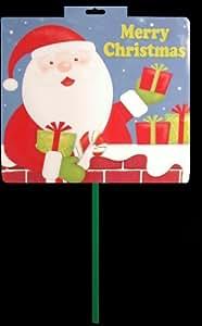 65cm Merry Christmas Sign Garden Stake Christmas Decoration (DP65) A
