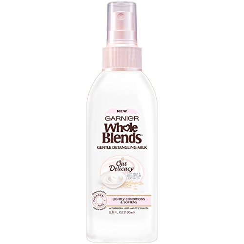 (Garnier Whole Blends Gentle Detangling Hair Milk Oat Delicacy, 5 fl. oz. )