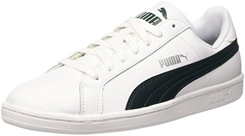 Puma Smash L - Puma Smash L Unisex adulto Bianco (White/Ponderosa Pine)