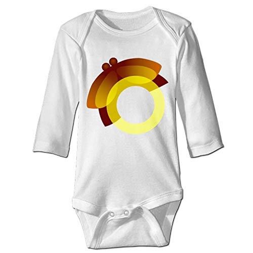 Newborn Baby Onesie Firefly Print Romper Bodysuit]()