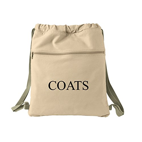 Coats Canvas Dyed Sack Backpack Bag by Style in Print (Image #1)