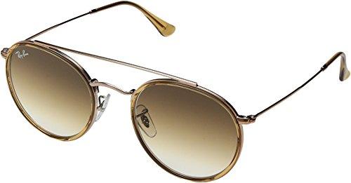 Ray-Ban Metal Unisex Aviator Sunglasses, Copper, 51 - Bridge Size Ray Ban