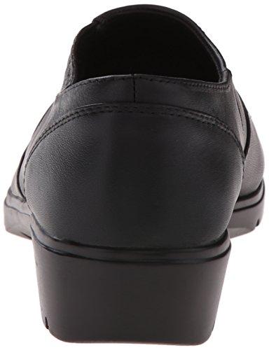 Skechers de la mujer de piel hombre negro