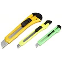 Darice Retractable Razor Knife Set, Assorted Color