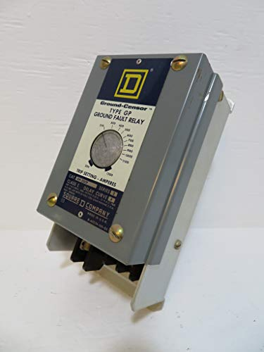 Square D GP-200F Ground-Censor Series 2 Ground Fault Relay 200-1200 Amp ()