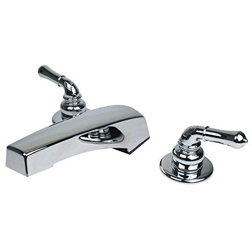RV / Mobile Home Motor Vehicle Bathroom Roman Tub Filler Faucet, Chrome